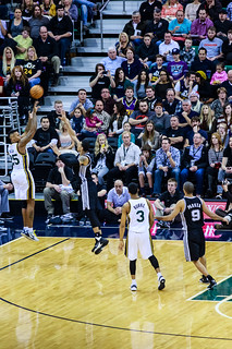 Jazz vs Spurs-3465