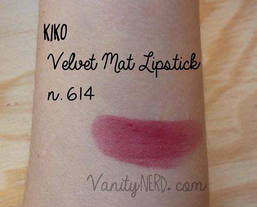 Kiko 614 swatch