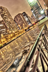 Chicago River Frozen