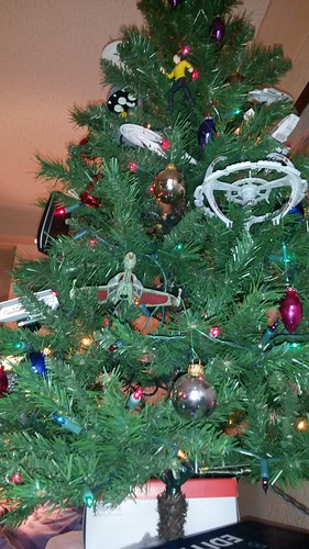 My father-in-law's Star Trek tree by christopher575