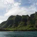 Beginning of the Nā Pali Coast