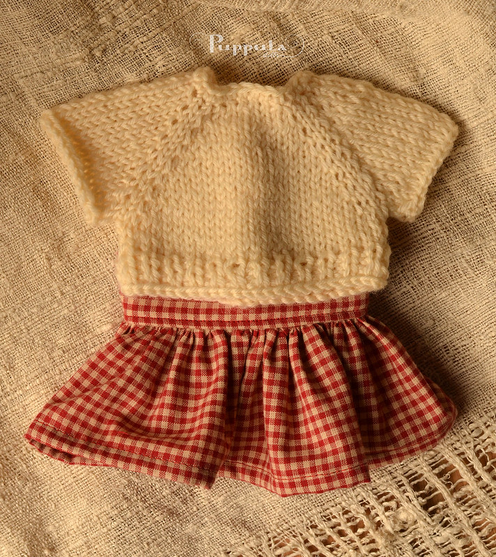 Giveaway outfit for a 12 inch doll
