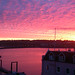 Sunrise over cowes taken on moblie phone