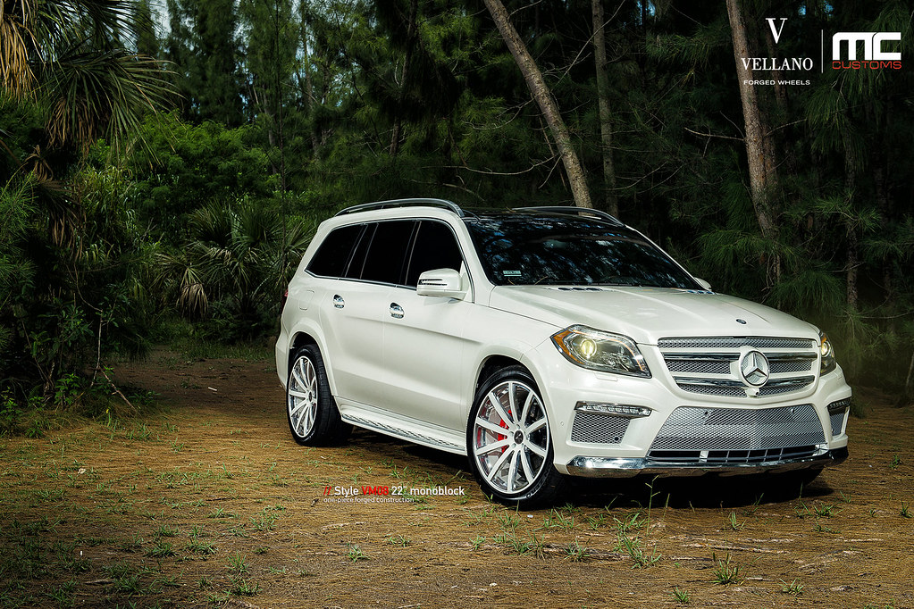 "Porsche Driving School >> Mercedes Benz GL550 on Vellano VM08 22"" Monoblock - 6SpeedOnline - Porsche Forum and Luxury Car ..."