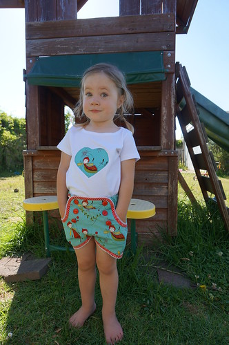 Woodland Sailor Shorts and t-shirt