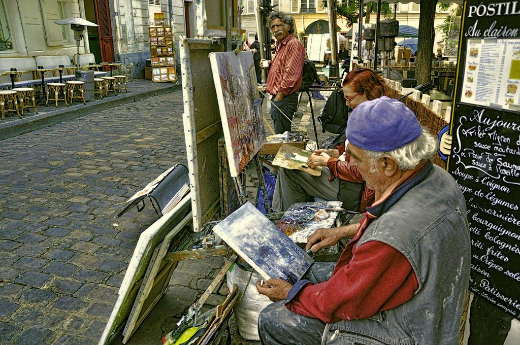 Les Artistes de Montmartre.