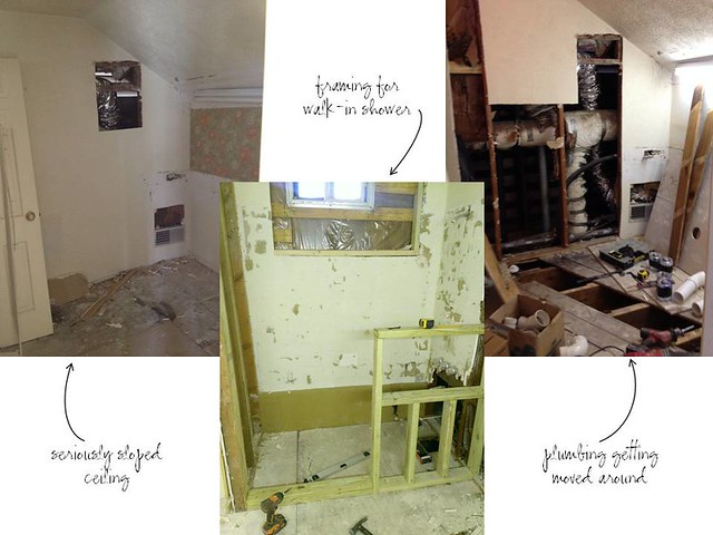 master bath demolition