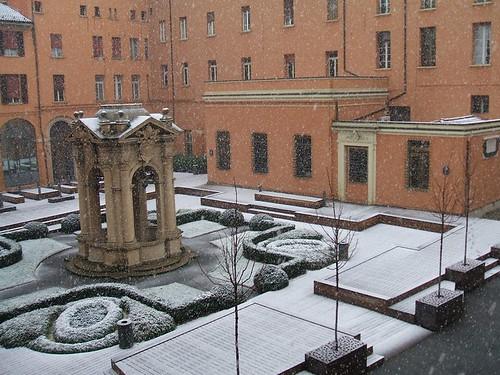 Neva a Bologna 28/01/2014 by meteomike