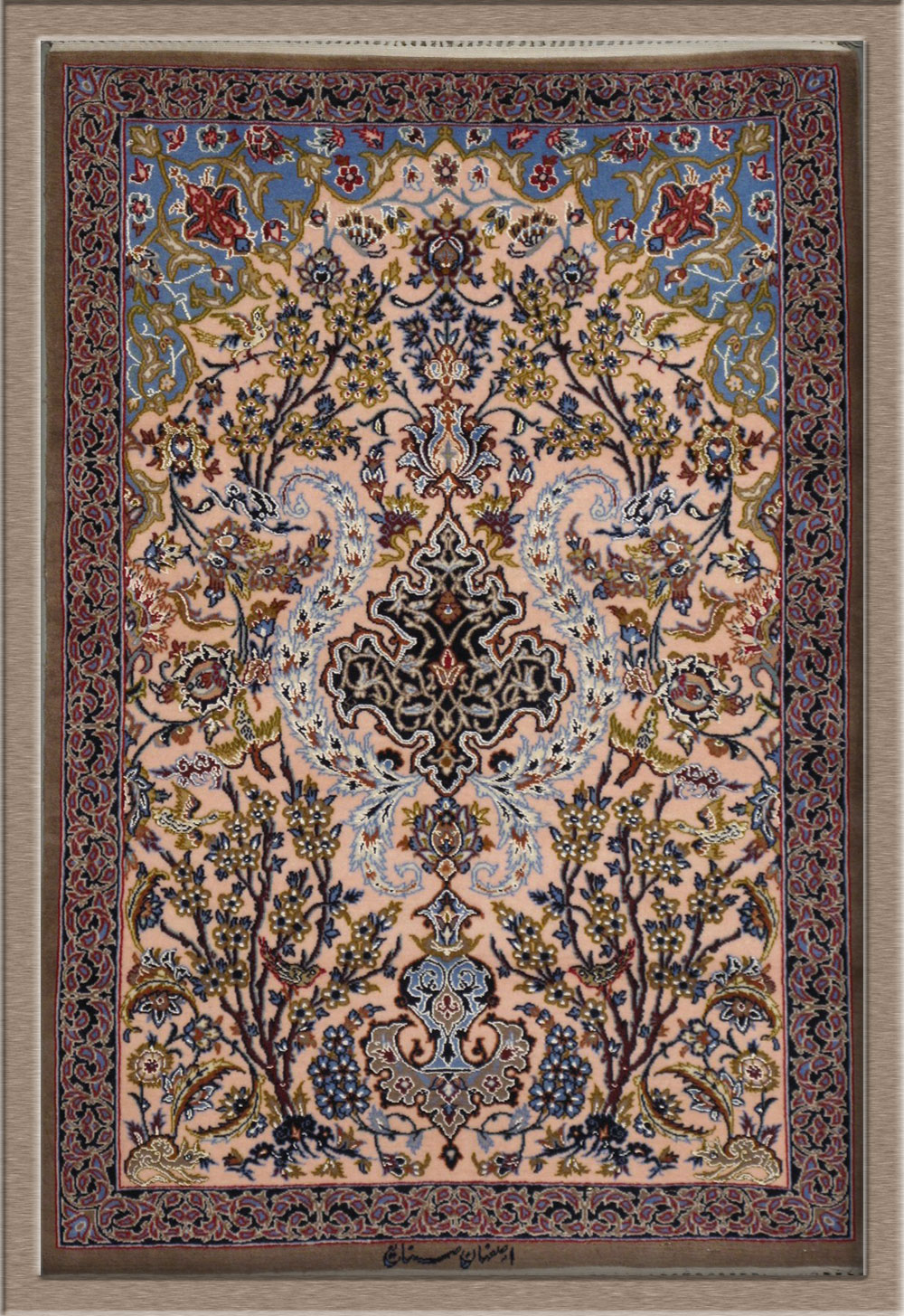Goldani Silk Persian Rug Item Cs Is 3