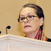 Sonia Gandhi at the Waqf function 04