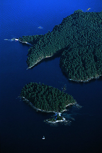 Portland Island and Princess Margaret Marine Park, Gulf Islands, Georgia Strait, British Columbia, Canada