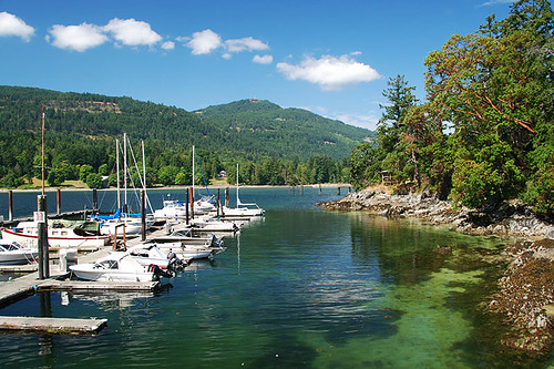 Fulford Harbour, Saltspring Island, Gulf Islands, Georgia Strait, British Columbia, Canada