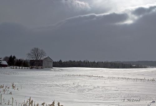 sun snow barn shadows farm clearview6thline