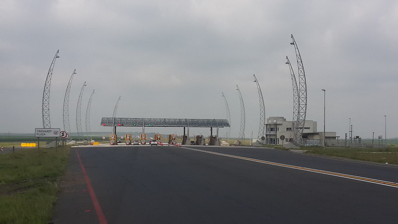 Toll-gate on the N7 to Joburg