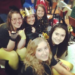 The best cheering section @Gates Bowl! #sectionals #trojanpride