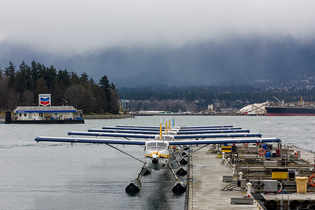 Coal Harbour: Vancouver Harbour Water Airport
