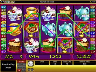Mad Hatters Bonus Game