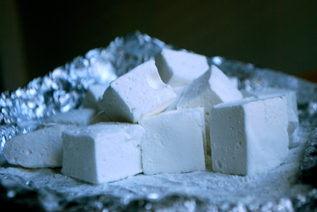 homemade marshmallows