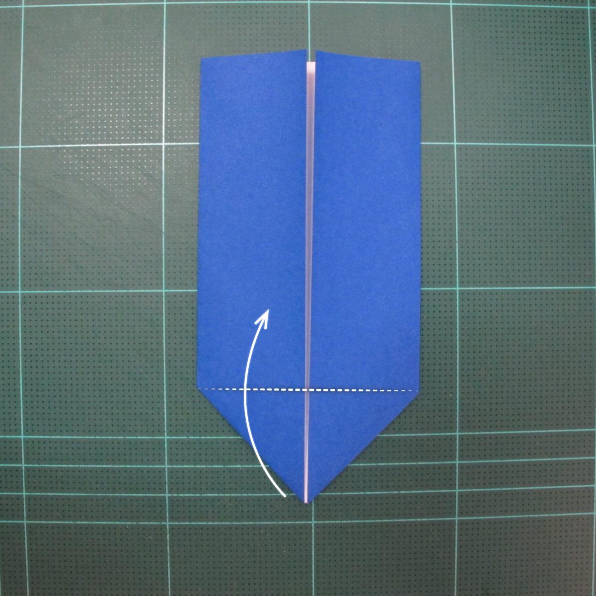 วิธีการพับกระดาษเป็นรูปกระต่าย แบบของเอ็ดวิน คอรี่ (Origami Rabbit)  005