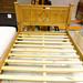 Dbl pine framed bed frame