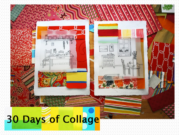 sponsor spotlight : 30 Days of Collage with Stephanie Levy | Emma Lamb