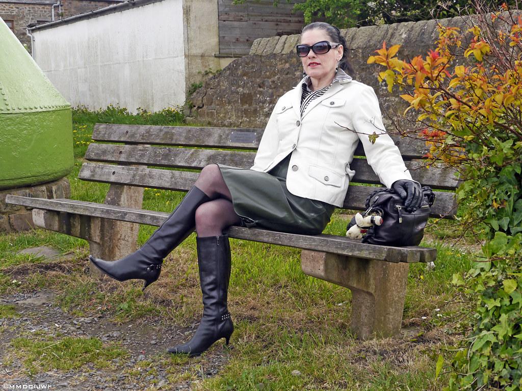 Mature women boots