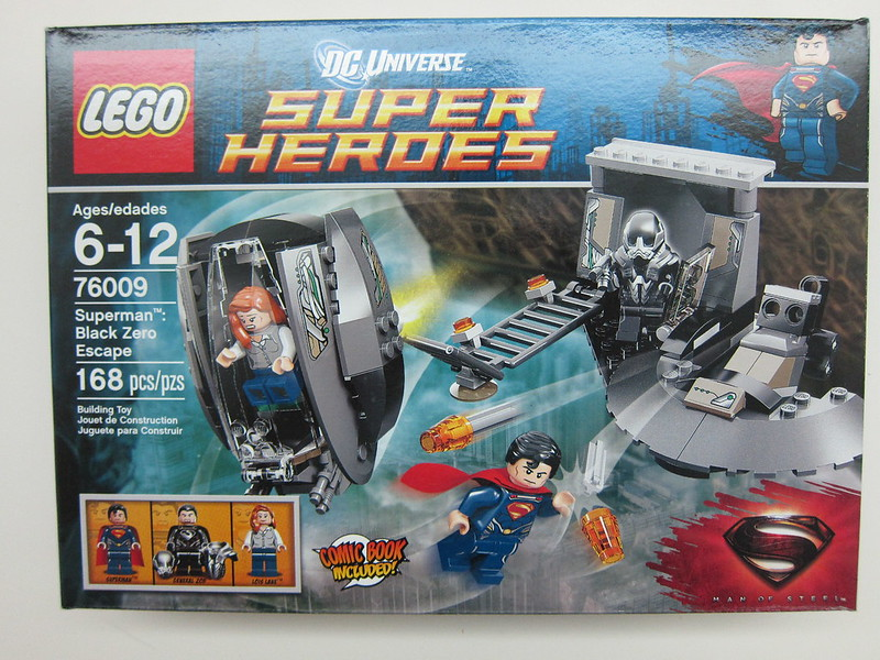 Lego - 76009 - Super Heroes - Superman Black Zero Escape