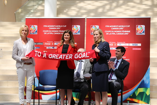 FIFA Women's World Cup 2015 Launch