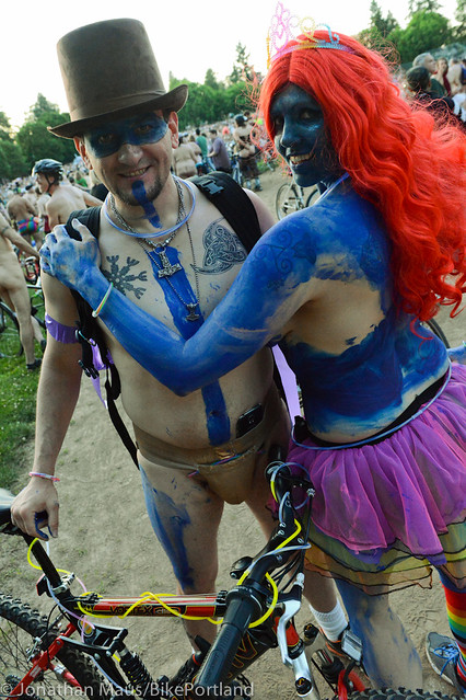 2014 World Naked Bike Ride -42