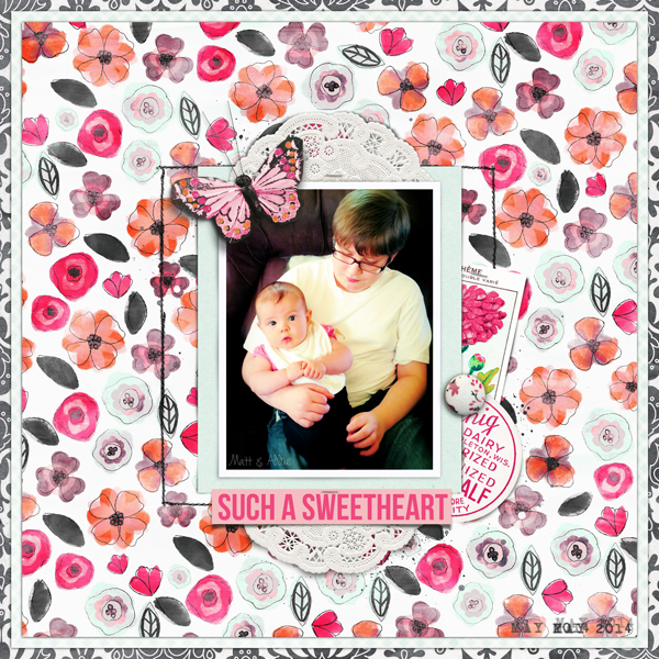 such a sweetheart by Carrie Arick | DigiScrap Geek