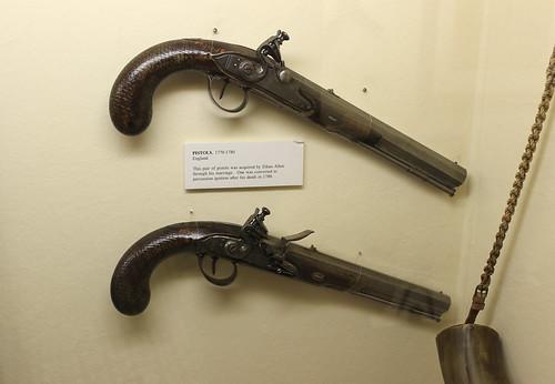 Ethan Allen's pistols