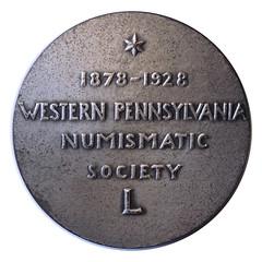 WPNS medal 1928 SILVER REV
