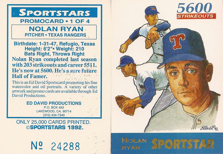 1992 Ed David Sportstars