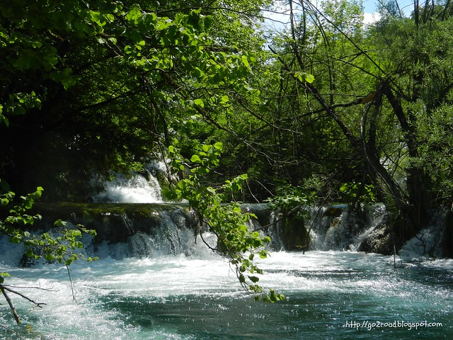 Заповедник Плитвицкие озера. Хорватия