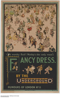 Fancy Dress. By the Underground, Humours of London No. 11 / « Fancy Dress », by the Underground – Humours of London, no 11