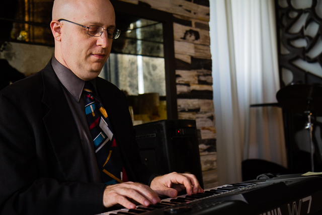 Ben Wanicur Trio at Cusrp 62714 © Michael Klayman 2014- 23