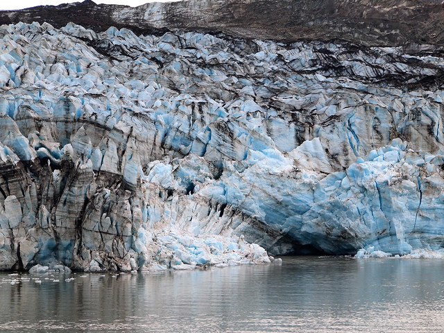 Lamplugh Glacier in Glacier Bay National Park, Alaska