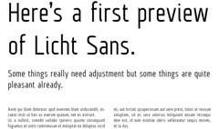 Licht Sans Preview