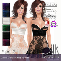 Silk Dreams Esprit 2 Poster with Appliers