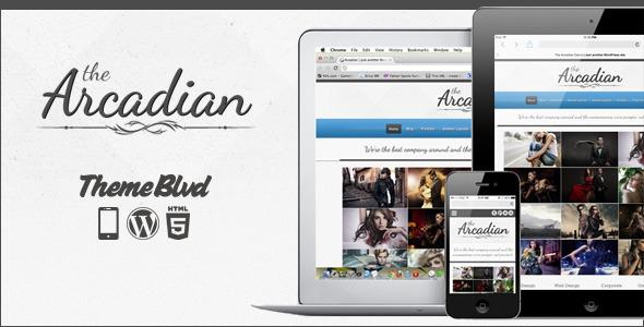 The Arcadian v2.1.4 - Responsive WordPress Theme