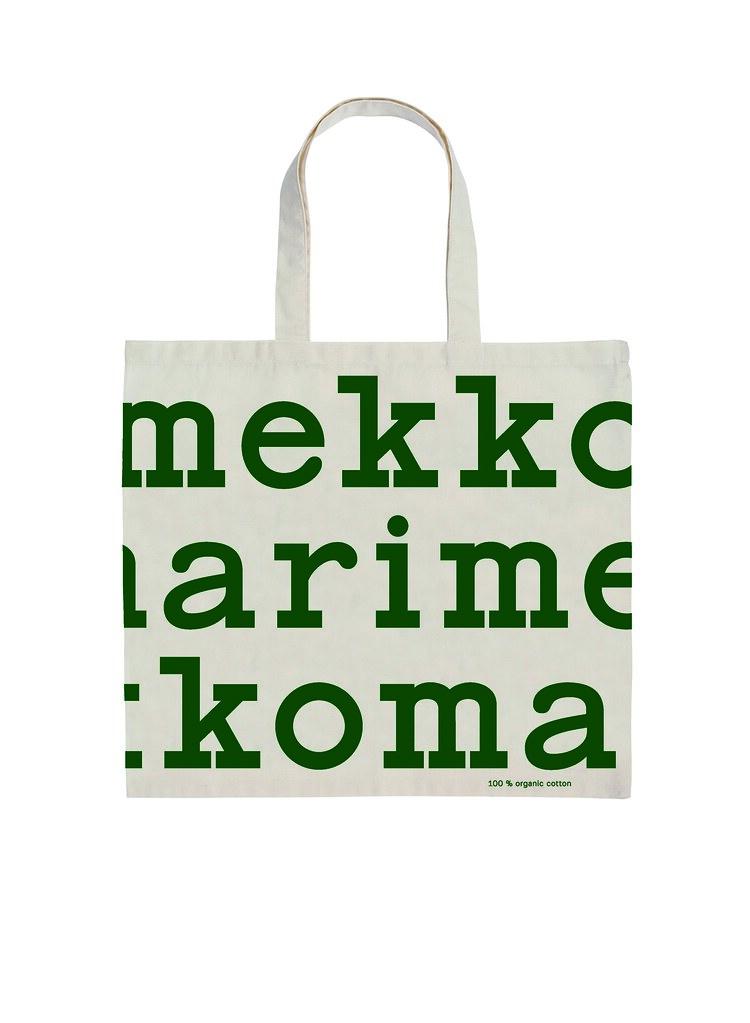 Marimekko聖誕限定Logo袋