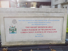 A Memorial Outside Manchester Crown Court