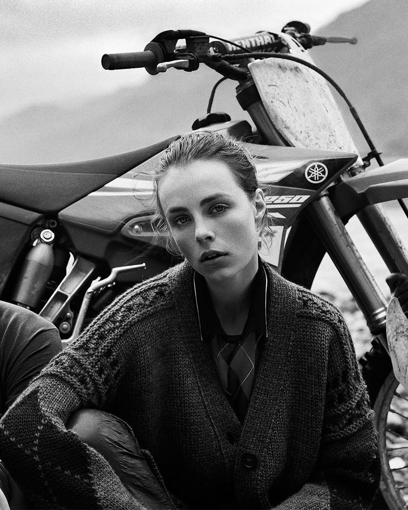 Эди Кэмпбелл — Фотосессия для «Vogue» UK 2016 – 4