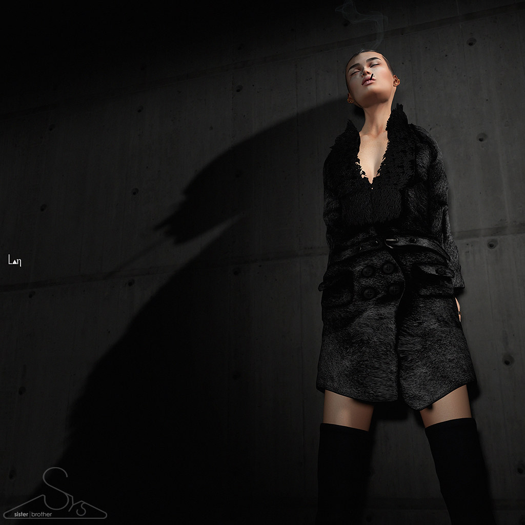 [sYs] Viktor coat for Ladies - SecondLifeHub.com