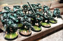 Sons of Horus legion Tactical squad (3 demi-squads).