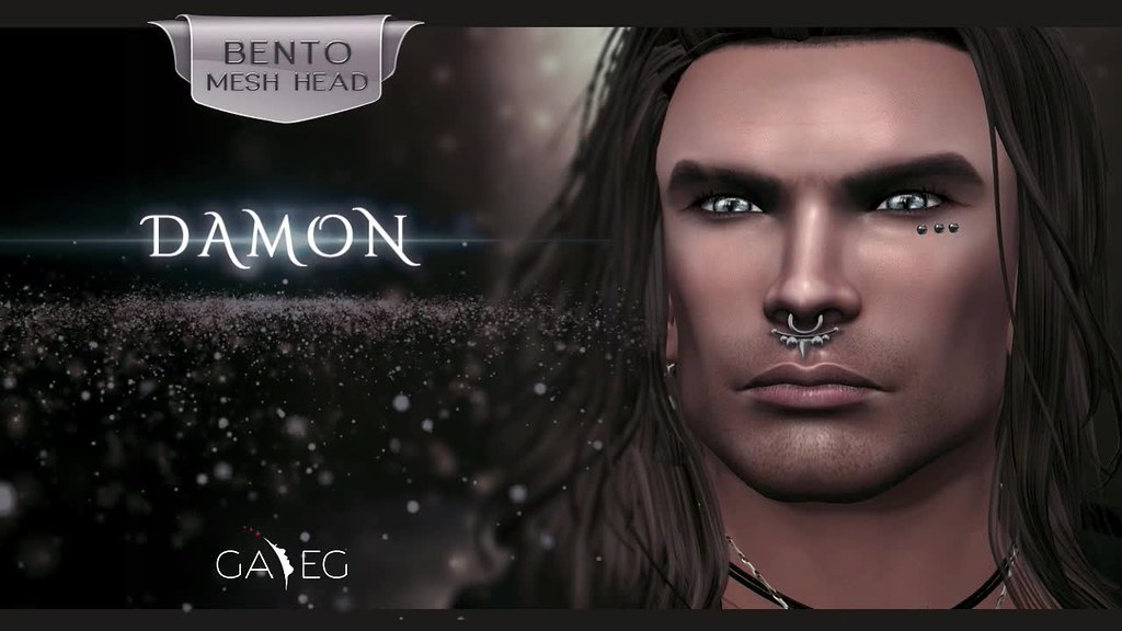 GA.EG - DAMON - BENTO Mesh Head - Coming Soon - Movie Trailer - SecondLifeHub.com