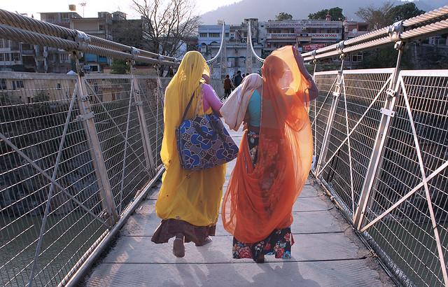 Sisters @Lakshmanjhula