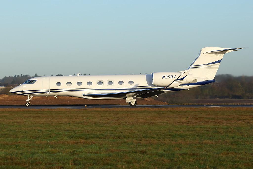 N358V - G650 - Aerolineas Mas
