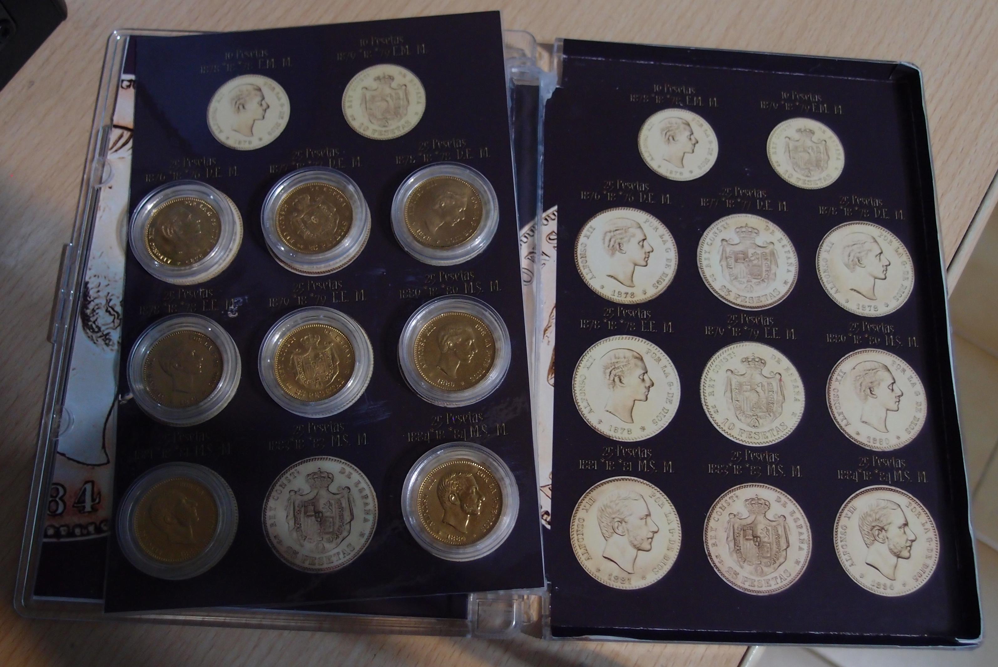 Coleccion Alfonso XII y Monetario 9055581161_41525b9422_o