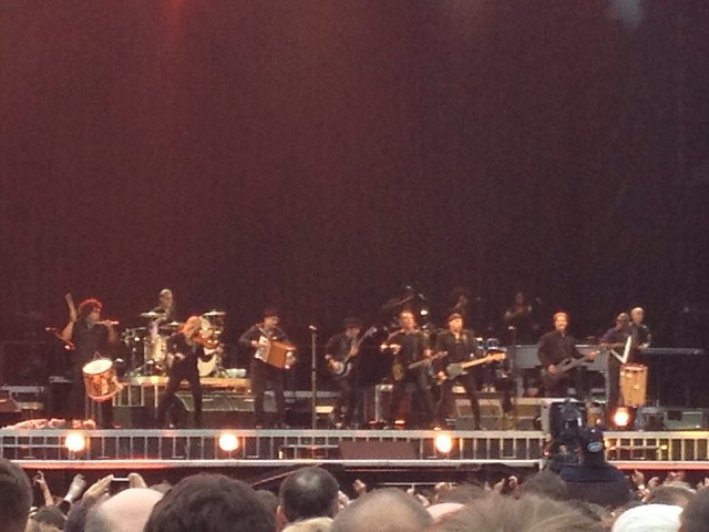 Bruce Springsteen at the Ricoh Arena, Coventry, 20th June 2013